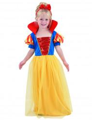 Satuprinsessan värikäs naamiaisasu lapsille