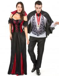 Herra ja rouva vampyyri - aikuisten halloween pariasu