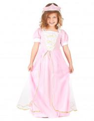 Neiti Valeanpinkki - Lasten prinsessa-asu
