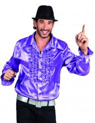 Miehen violetti discopaita