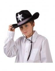 Sheriffin musta hattu pojalle