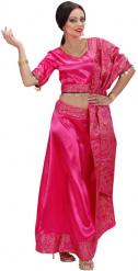 Naisten bollywood tanssijatar naamiaisasu