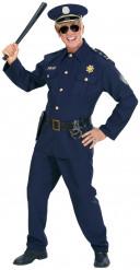 Sininen poliisin asu