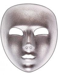 Hopeanvärinen naamio aikuisille