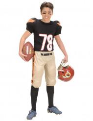 Amerikkalaisen jalkapallon pelaajan asu lapsille