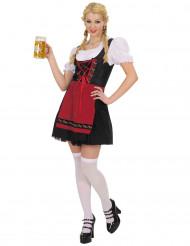 Naisten Oktoberfest naamiaispuku