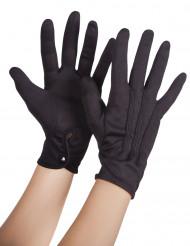 Mustat hanskat aikuisille