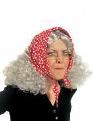 Vanhan naisen peruukki