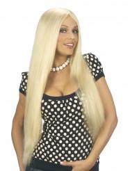 Pitkät blondit hiukset aikuisille