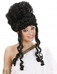 Musta jumalattaren peruukki aikuisille