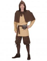 Keskiaikainen matkaaja -asu miehille