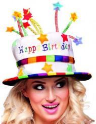 Happy Birthday -hattu aikuiselle