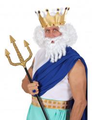 Valkoinen merten kuninkaan peruukki