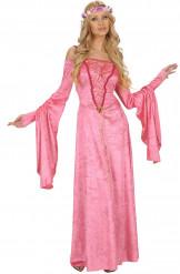 Rouva Pinkki - Keskiaikainen prinsessamekko