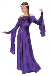 Rouva Orvokki - Keskiaikainen prinsessaasu