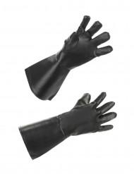 Tekonahkaiset hanskat aikuiselle