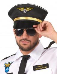 Lentokapteenin hattu aikuiselle