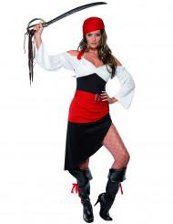 Taisteleva Tiina - Naisten naamiaisasu merirosvotar