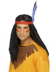 Miesten alkuperäisasukkaan peruukki