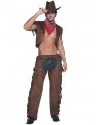 Seksikäs cowboy- asu
