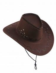 Cowboyn hattu nauhalla