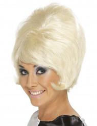 60-luvun blondi peruukki aikuisille