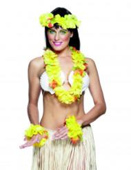 Keltainen Havaiji-setti aikuisille
