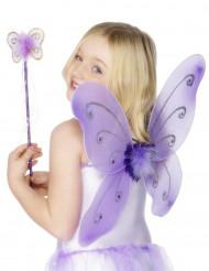 Perhosen violetti asustesetti lapsille