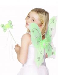 Vihreä perhossetti lapsille