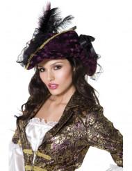 Merirosvon violetti hattu