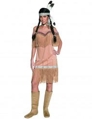 Suloinen Simpukka - Naisten intiaaniasu