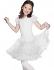 Lasten läpikuultava valkoinen alushame