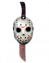 Muoviveitsi ja naamio Jason™ perjantai 13 päivä™