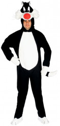 Miesten naamiaisasu Sylvesteri-kissa -Looney Tunes™
