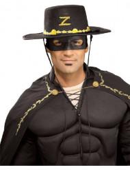 Zorron™ hattu ja naamio aikuisille