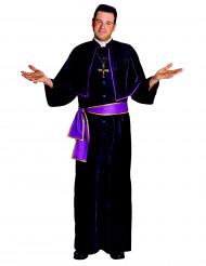 Pappi mustassa tuunikassa - Miesten naamiaisasu