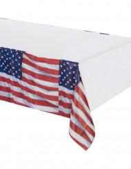 Paperipöytäliina USA:n lipuilla