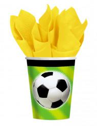 Jalkapallo-pahvimukit, 8 kpl