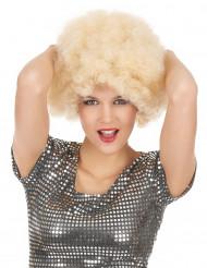Blondi afroperuukki naiselle