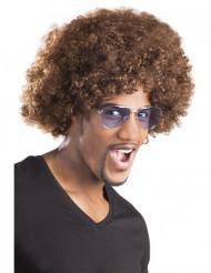 Ruskea afroperuukki aikuisille