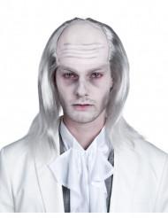 Valkoinen Halloween-peruukki aikuisille