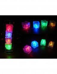 LED-valaistut jääkuutiot - 6 kpl