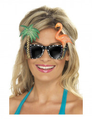 Aikuisten aurinkolasit havaijilaisilla koristeilla