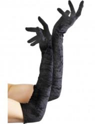 Mustat hansikkaat