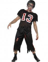 Miesten Halloween Zombiasu amerikkalainen jalkapalloilija