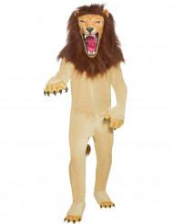 Aikuisen realistinen leijonapuku