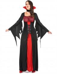 Naisten Halloween vampyyri-asu