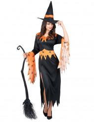 Oranssi noita - Halloweenmekko naisille