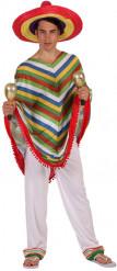 Meksikolaisen miehen naamiaisasu
