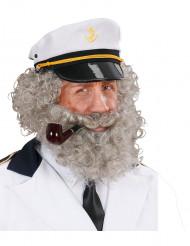 Merimiehen parta ja viikset